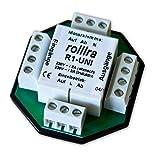 Trennrelais R1-UNI (2 Motore) für Rolladenmotor Jalousiemotor Einzelsteuerung / Zentralsteuerung / Gruppensteuerung
