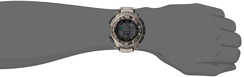 82862ed2c Amazon.com: Casio Men's Pro Trek PRW-2500T-7CR Tough Solar Digital Sport  Watch: Casio: Watches
