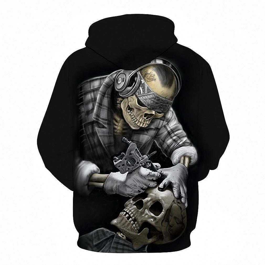 Emlyn Adrian Funny Skull Hoodies 3D Hoodies Men Women Sweatshirts Unisex Hooded Pullover