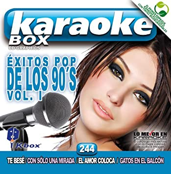 KBO-244 Exitos Pop De Los 90?S Vol 1(Karaoke)