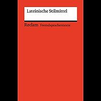 Lateinische Stilmittel: Reclams Rote Reihe – Fremdsprachentexte