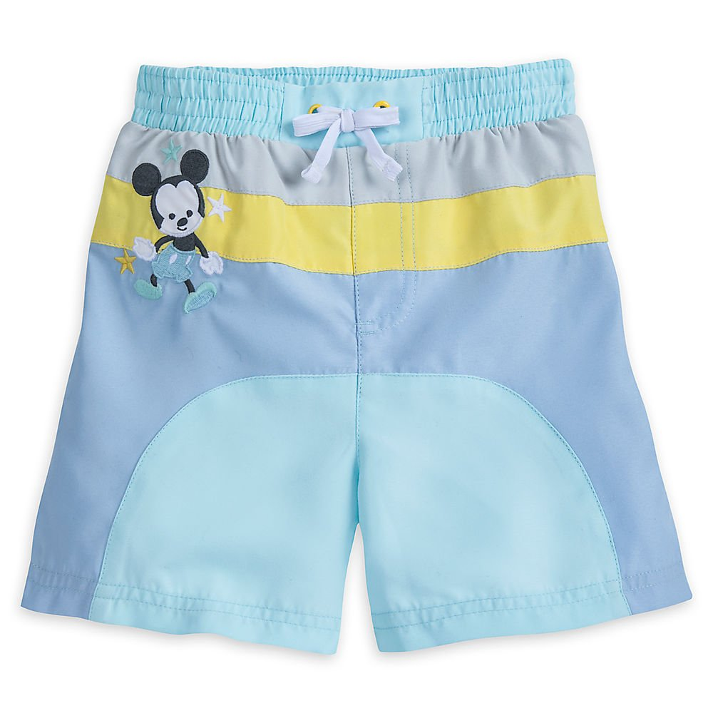 Disney Mickey Mouse Swim Trunks for Baby Size 18-24 MO 440435810803