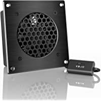 AC Infinity AIRPLATE S1, Quiet Cooling Fan System with Speed Control, for Home Theatre AV Cabinet Cooling