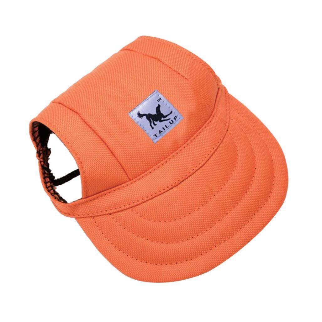 Xshuai TAILUP Baseball Cap Summer Canvas Cap Lovely Puppy Small Pet Dog Cat Visor Hat Outdoor Sunbonnet Cap