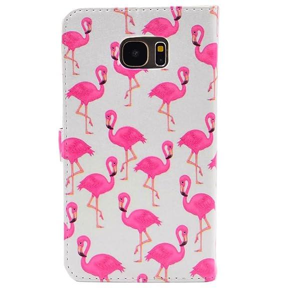 samsung galaxy s7 edge flamingo case