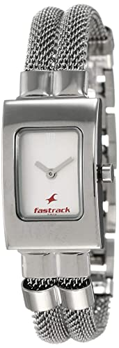 3. Fastrack Upgrade-Core Analog White Dial Watch