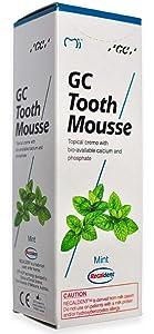 GC Mousse 40g Tube - 1 Pcs - Mint Toothpaste