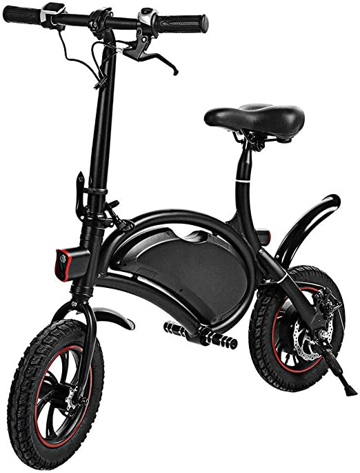 Y&XF Bicicleta Eléctrica Eléctrica Plegable Scooter 350W 36V E ...