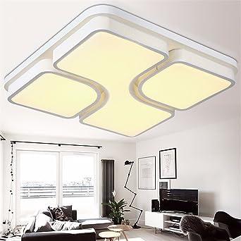 Las luces de techo led modernos de salón dormitorio lamparas ...