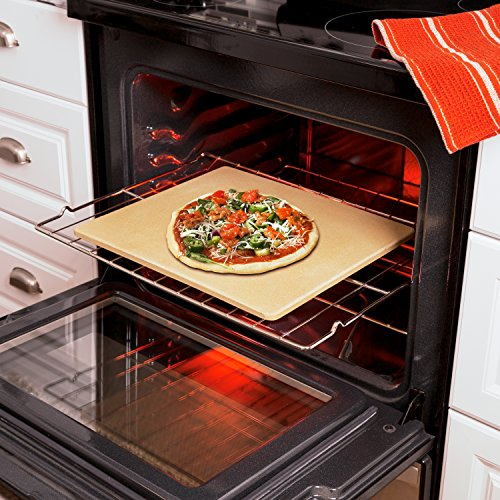 Old Stone Oven Rectangular Pizza Stone by Honey-Can-Do (Image #6)
