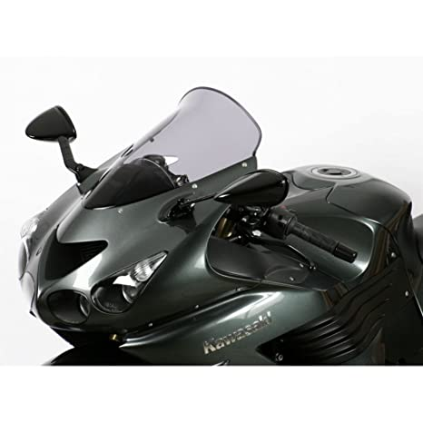 MRA TouringScreen Windshield for Kawasaki ZX14 / ZZR1400 Ninja, 06- (BLUE)