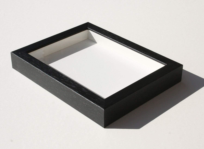 Shadowbox Gallery Wood Frames - Black, 20 x 20