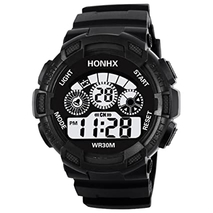 Reloj Personalizado como Regalo Niños a Prueba de Agua LED Digital Reloj Deportivo Fecha de Alarma