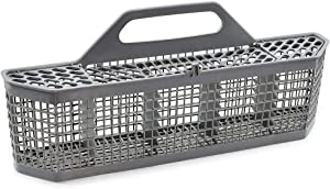 WD28X10128 Dishwasher Silverware Basket (Grey) Compatible with General Electric (GE) WP8531288/961960/AP6012914 by Cenipar