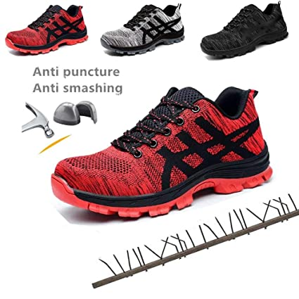 0a405a4ccf5b1 Amazon.com: Disnation 2019 Indestructible Men Safety Shoes, Work ...