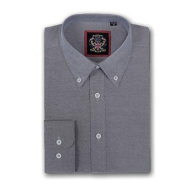 Vivienne Westwood Mens Embroidered Logo Shirt - Sky