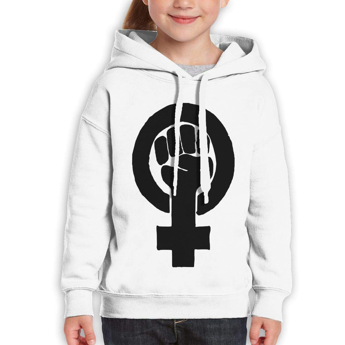 Xxxx Dtjscl Boys Girls Feminism Teen Youth Hoodie Gray