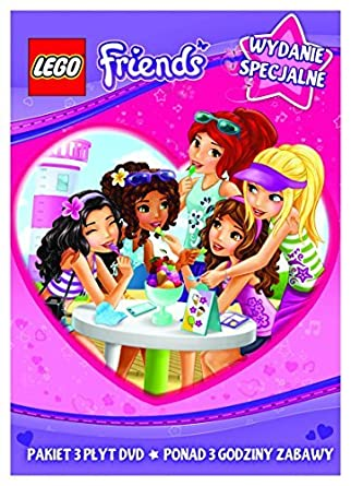 Lego Friends DVD Region 2 IMPORT No English version by Darrel ...