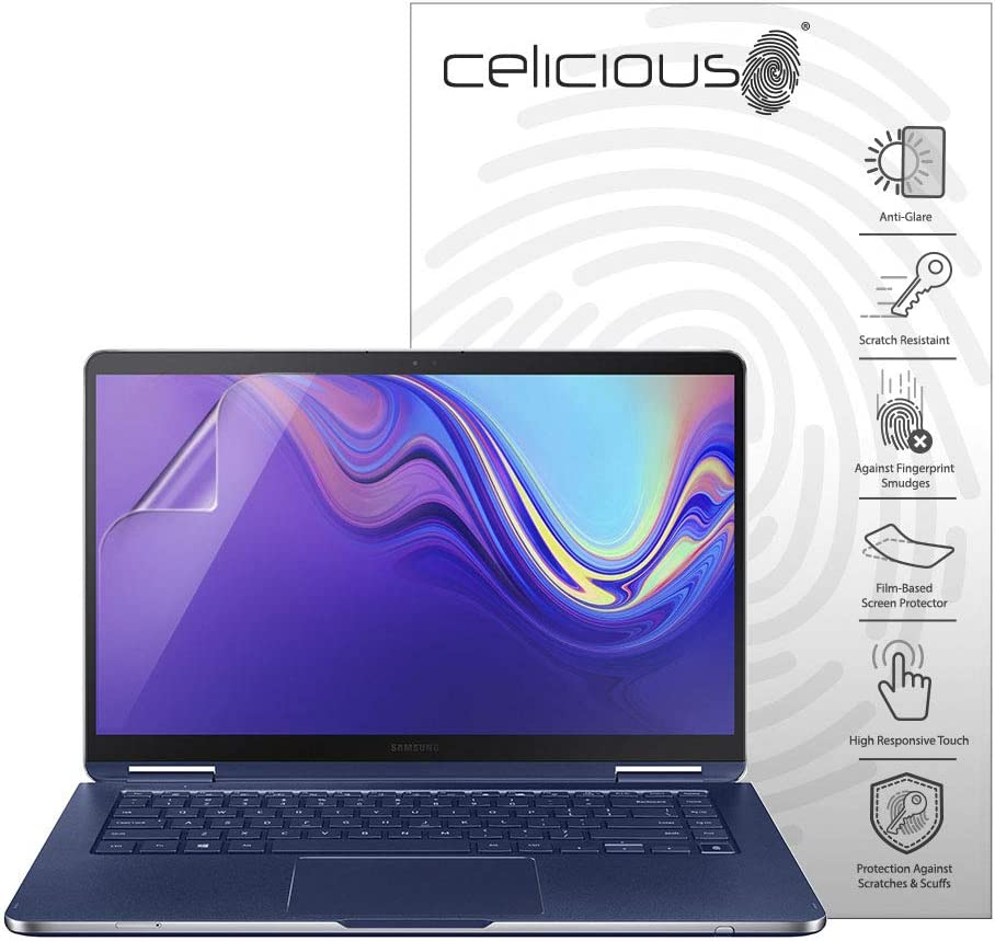 Celicious Matte Anti-Glare Screen Protector Film Compatible with Samsung Notebook 9 Pen 15 (NP950SBE) [Pack of 2]