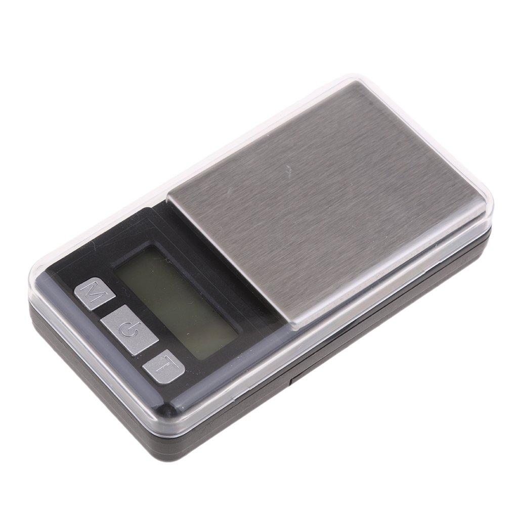 Baoblaze Digital Milligram Pocket Scale 200g/0.01g Pro Jewelry Lab Carat Powder Scale with Back-Lit LCD Display Auto Off Tare Function