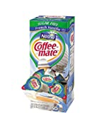 Nestle Coffee-mate Creamer French Vanilla Sugar Free 3-pack;50 Count Each.