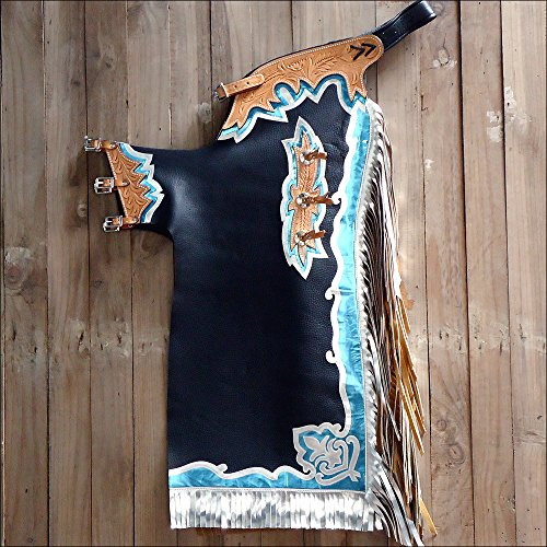 Used Bull Riding Chaps - 8