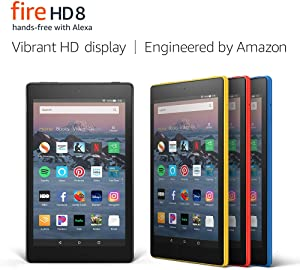 "Fire HD 8 Tablet (8"" HD Display, 32 GB) - Yellow (Previous Generation - 8th)"