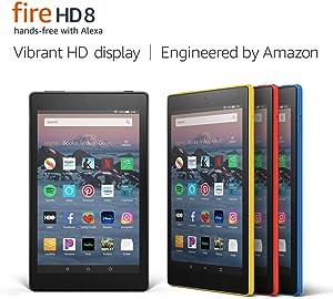 """Fire HD 8 Tablet (8"""" HD Display, 16 GB)- Blue"""