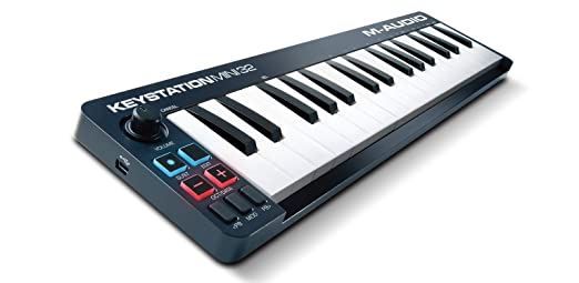 150 opinioni per M-Audio Keystation Mini 32 II Tastiera Controller MIDI USB Portatile e Leggera
