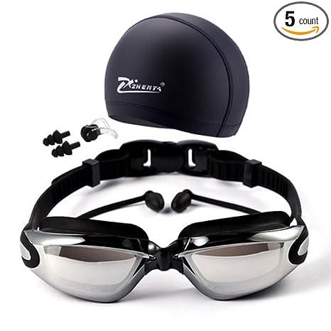 Amazon com : Newest trent Swimming Goggles Anti Fog UV Protected