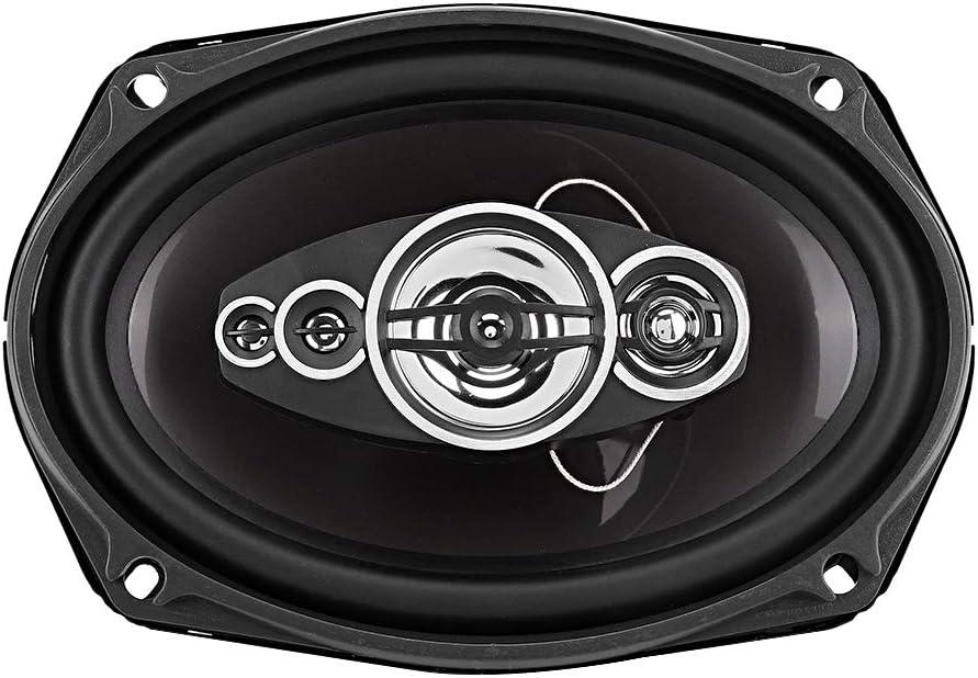 Car Loudspeaker,Pair of 6x9in Auto Car HiFi Stereo Audio Coaxial Speakers Loudspeaker 800W TS-6972 Black Silver