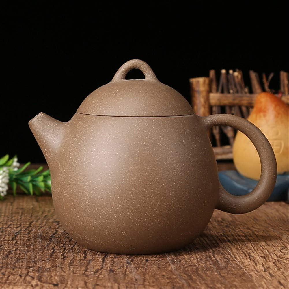 中国のティーポット 新しいティーポットセットティーポットカンフーティー 宜興粘土のティーポットパープル砂の鍋セラミック鍋 (色 : Purple mud)