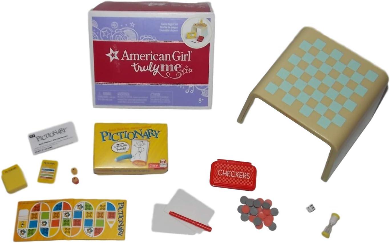 American Girl Juego de Noche para muñecas de 18 Pulgadas (muñeca no incluida): Amazon.es: Juguetes y juegos