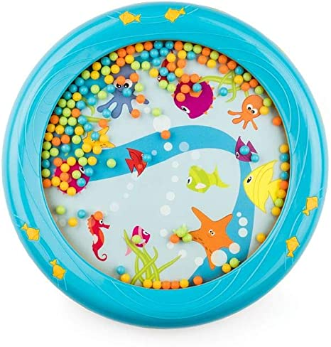 UK/_ 8inch Marine Animal Tambourine Ocean Wave Drum Musical Education Kids Toy Co