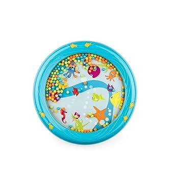 Kids Children Sensory Visual Ocean Wave Sea Sound Bead Drum Educational Toy UK
