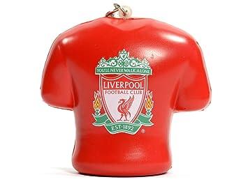 Liverpool FC Crest Stress Relief PVC Llavero (BB): Amazon.es ...