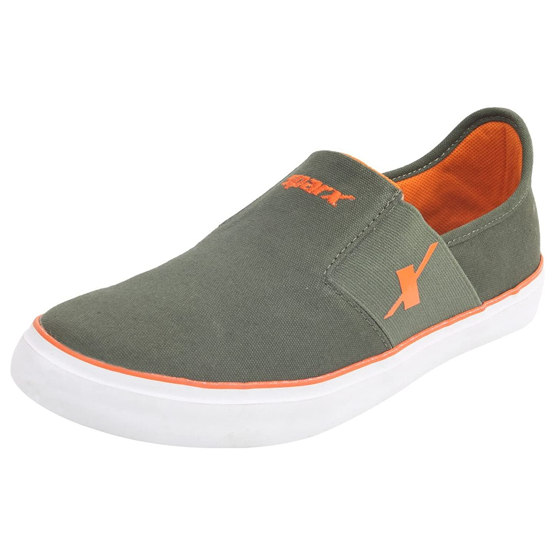 SPARX Olive-Orange Sneaker's Size-6x10 (SM214)