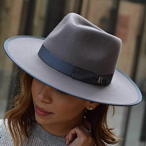 a7ccacf231ffd5 Image Unavailable. Image not available for. Color: RACEU ATELIER Grey Nuba  Hat ...