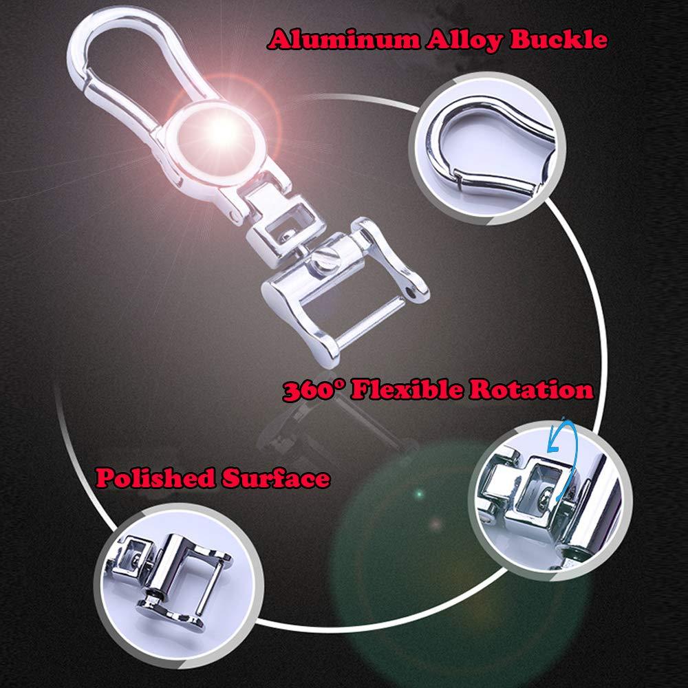 Premium TPU Remote Control Smart Key Fob Holder Key case Flip Key Protection with Key Chain Tesla Model S Key Fob Case Sliver