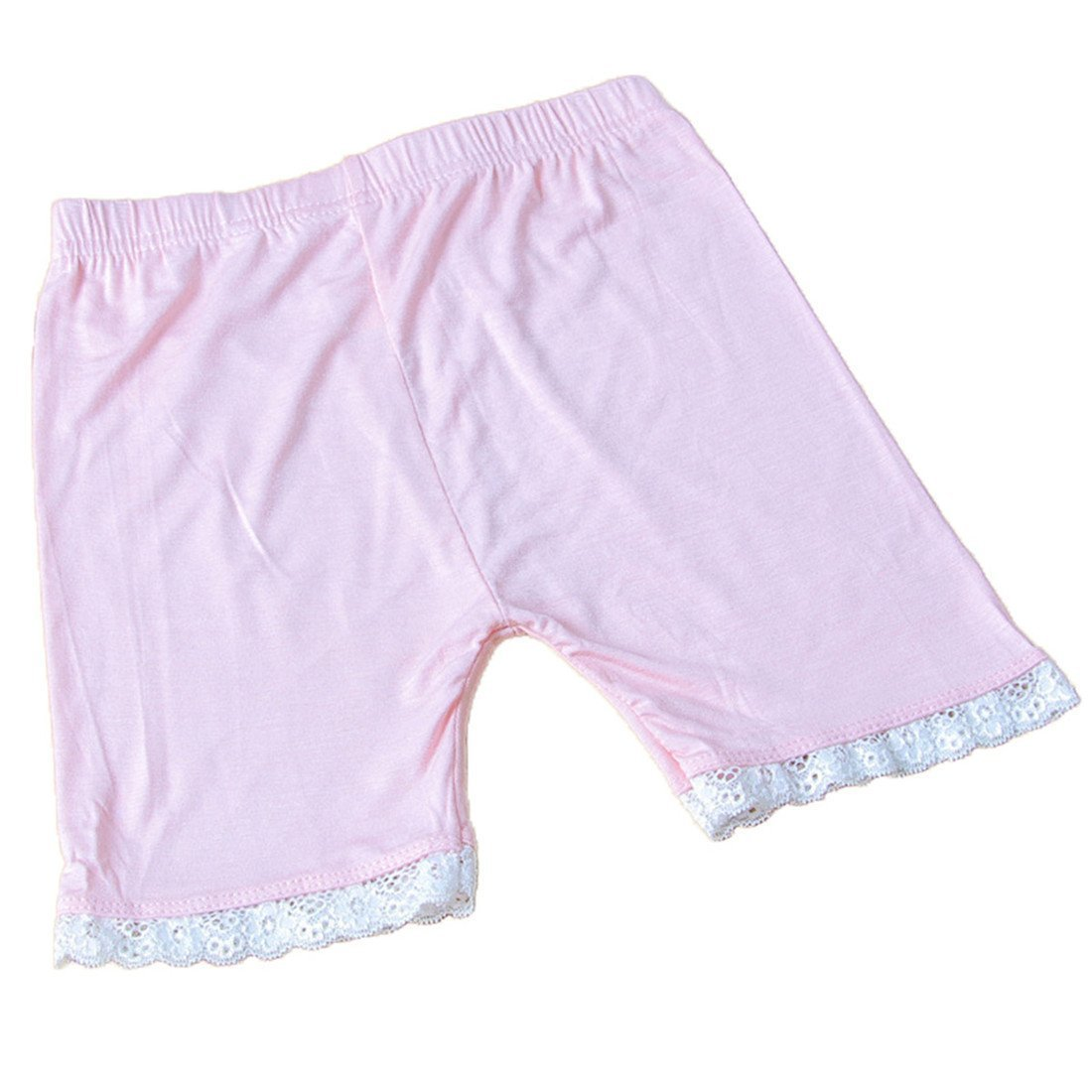 Little Girls Kids 4 Pcs Slim Elastic Lace Underwear Safety Short Panties Dancewear