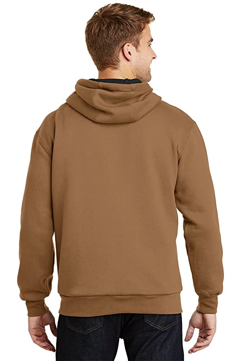 Men's Heavyweight Full Zip Hoodie with Thermal Lining at Amazon Men's  Clothing store: