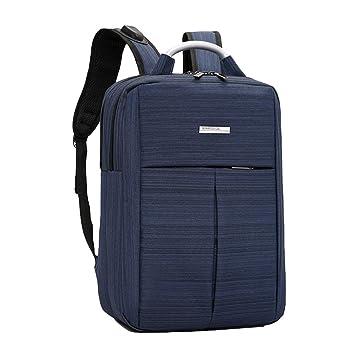 LINNUO Mochila para Portátil Mochilas Escolares de Ordenador con USB Cargador Backpack School Mochilas de a Diario Viaje Trekking Ciclismo (Azul Oscuro,29 ...