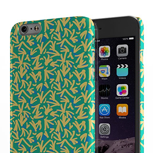 Koveru Back Cover Case for Apple iPhone 6 Plus - Free Flowing Bird Ethy