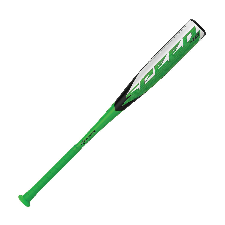 "EASTON Speed -10 (2 5/8"") USA Youth Baseball Bat | 2019 | 1 Piece Aluminum | ALX50 Alloy | Cushioned FLEX Grip"