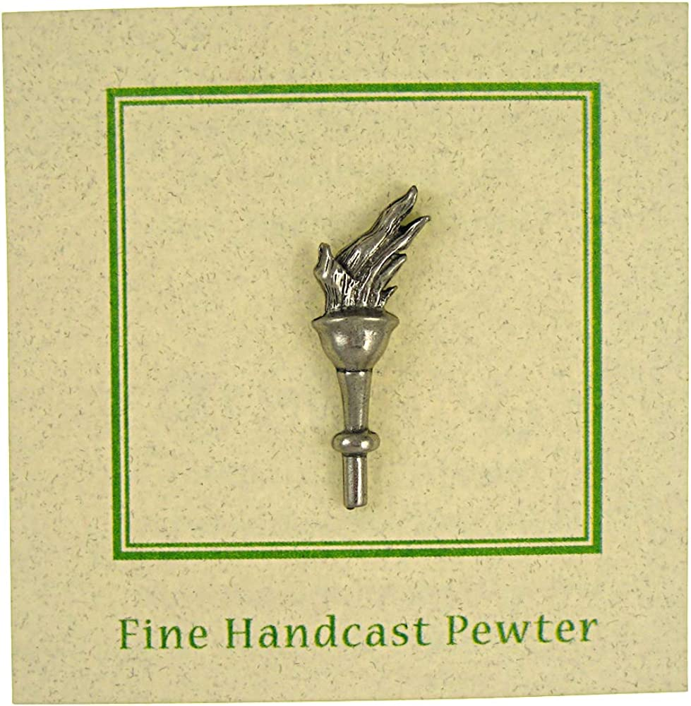 Jim Clift Design Torch Lapel Pin