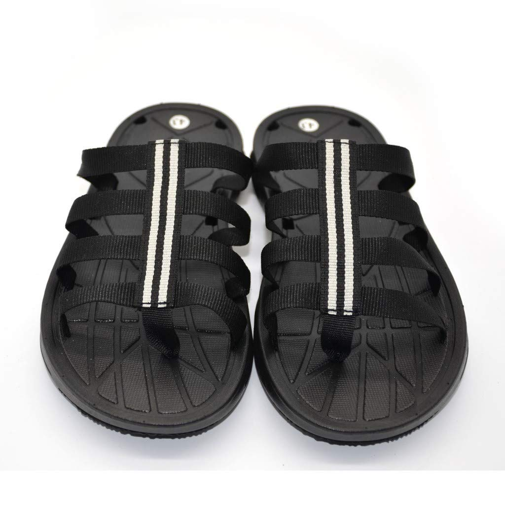 Zapatos de Hombre,PANPANY Personalidad Zapatos Moda Zapatillas Sandalias de Antideslizantes Chanclas Planas Shoes de Moda Zapatillas Confort Chanclas: ...