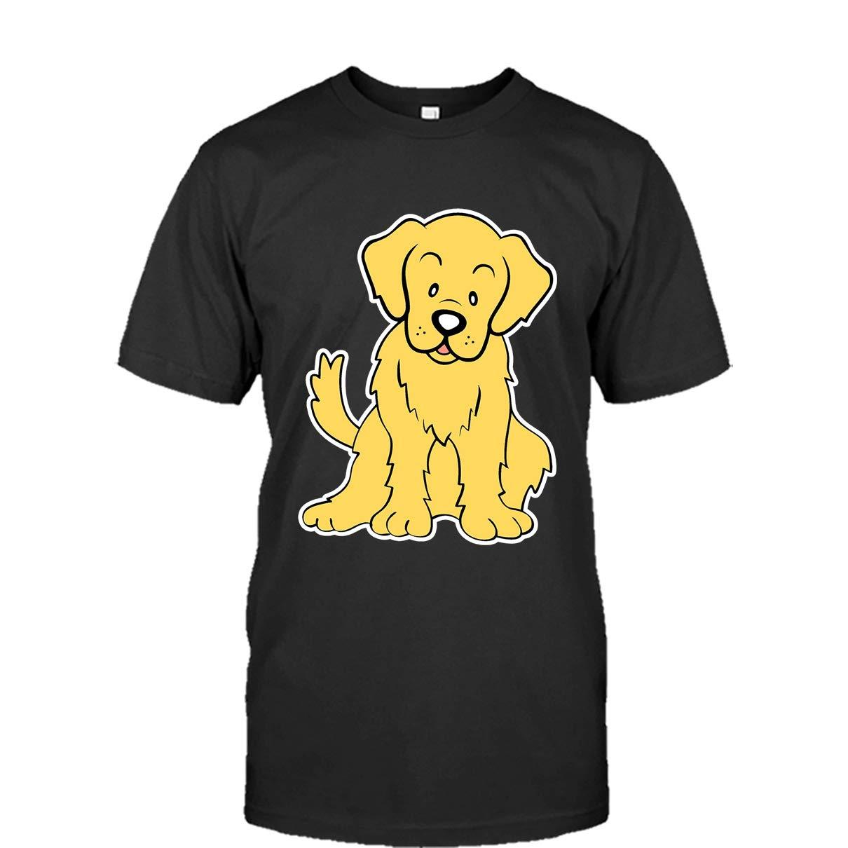 Golden Retriever Emoji Tee Shirt Design for Men and Women Golden Retriever Cool Tshirt