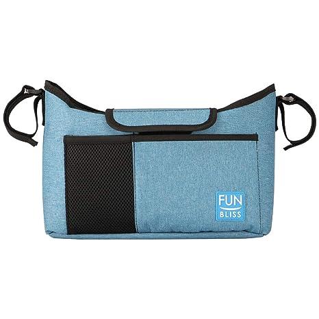 Amazon.com: Funbliss - Bolsa organizadora para cochecito con ...