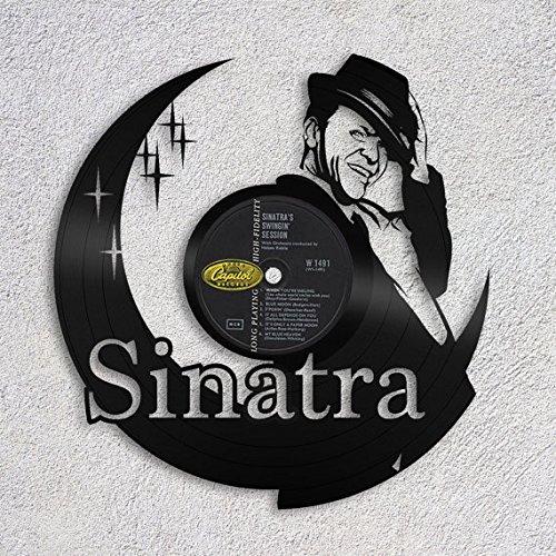- VinylShopUS - Frank Sinatra Romantic Vinyl Wall Art Decorative Sign Personalized Gift Your Choice of Label | Home Decor