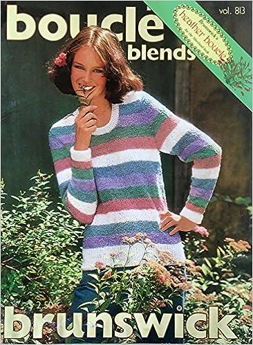 Brunswick Boucle Blends Knitting Patterns 813 Jennifer Peacock